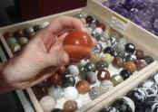 Minerál vbarvách rudé planety